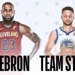 NBA ALL STAR 2018のスターターが決定致しました!!今年はチームレブロン・ジェームズVSチームステファン・カリー!!どんなチームになるのか見ものですね☆彡